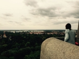 <h5>Blick vom Völkerschlachtdenkmal</h5>